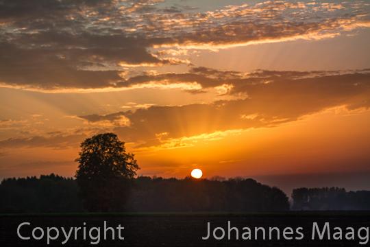 0364a Sonnenuntergang
