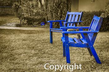 Teilfarbe Blau / Blau Sehen