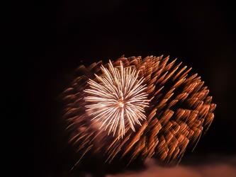 Feuerwerk, Remsede , Bad Laer;